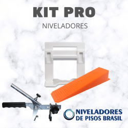 KIT  NIVELADORES 250 CLIPS LARGOS + 250 CUNHAS LARGAS + ALICATE PRO