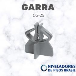 ESPAÇADOR PLÁSTICO GARRA CG-25 mm C/100