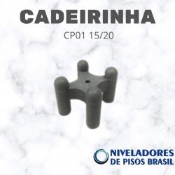 ESPAÇADOR  CADEIRINHA CP01 15/20 mm C/200