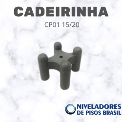 ESPAÇADOR CADEIRINHA CP01 15/20 mm C/400